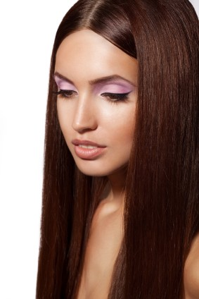 Medium Chestnut Brown Hair
