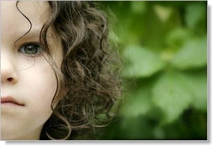 Kids hair styles. Beautiful naturally curly hair.