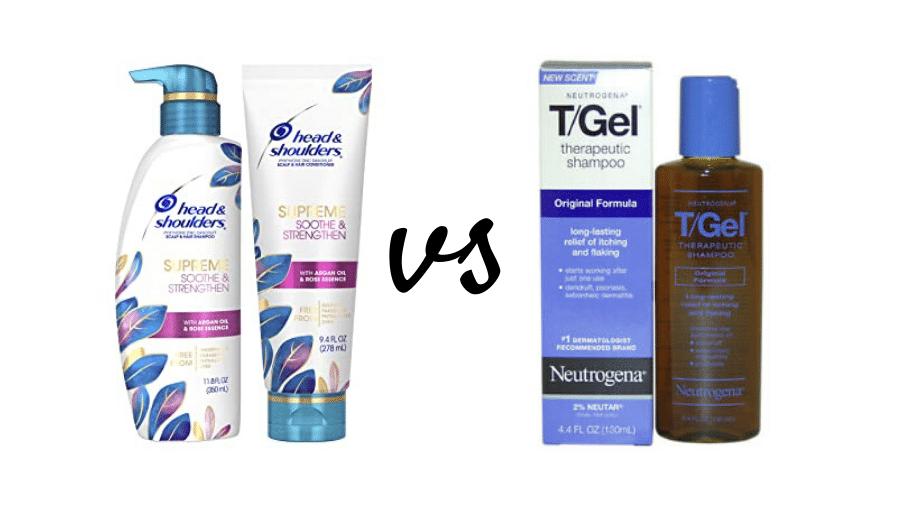 T Gel vs Head and Shoulders