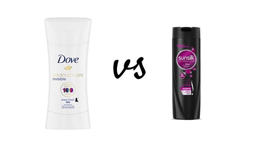 Sunsilk vs Dove