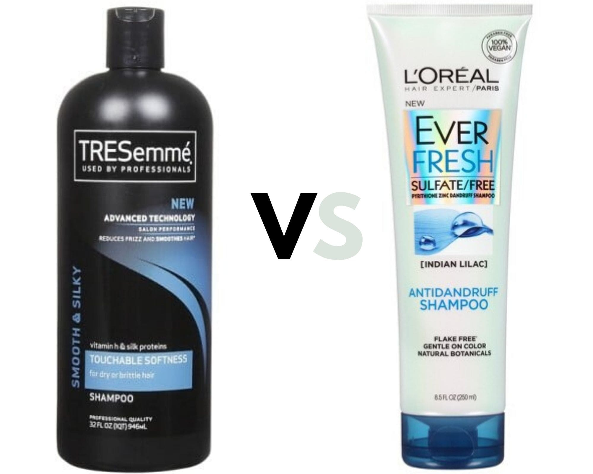 l'oreal or tresemme