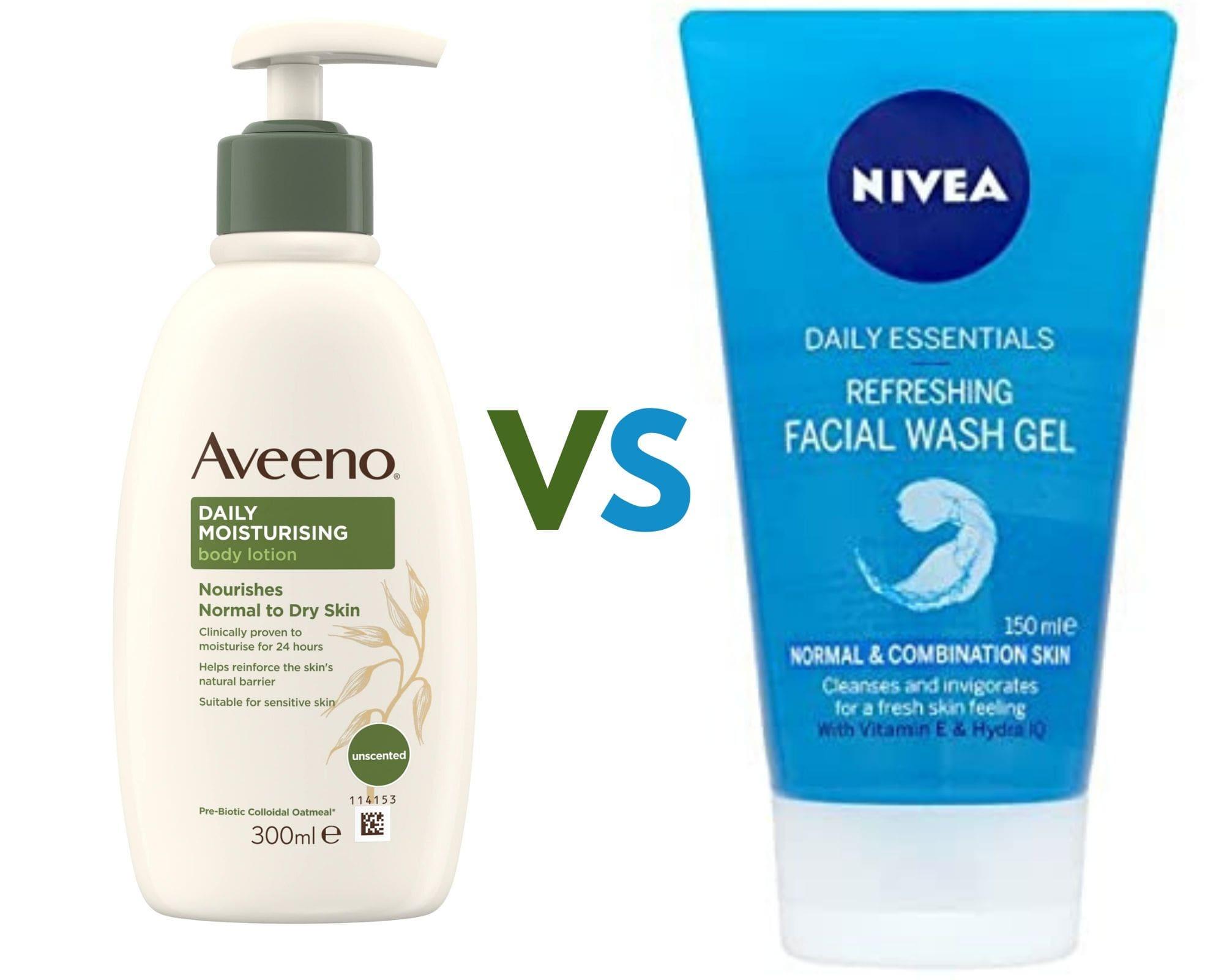 Aveeno vs Nivea