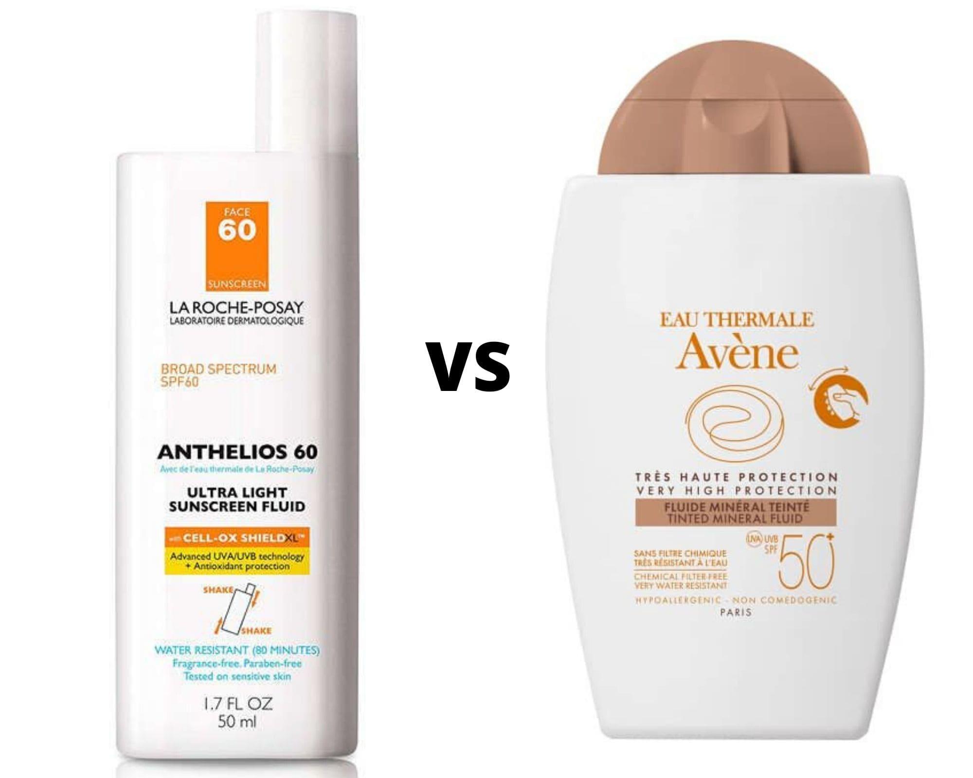 Avene or La Roche-Posay Sunscreen