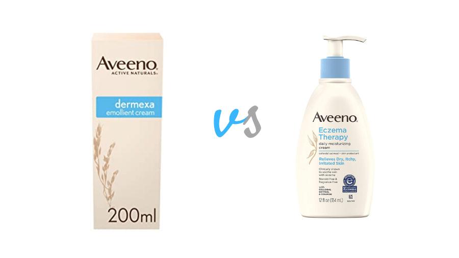 Aveeno Dermexa vs Eczema Therapy